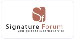 SignatureForum - Your Guide to Superior Service